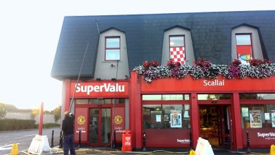 Roof Cleaning of SuperValu, Cork by Pro Wash, Ireland